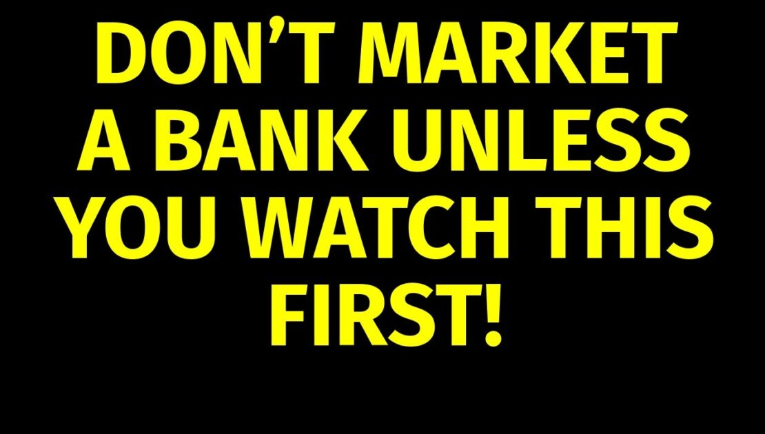 How to Market a Bank | Marketing for Banks | Bank Marketing Plan Strategies