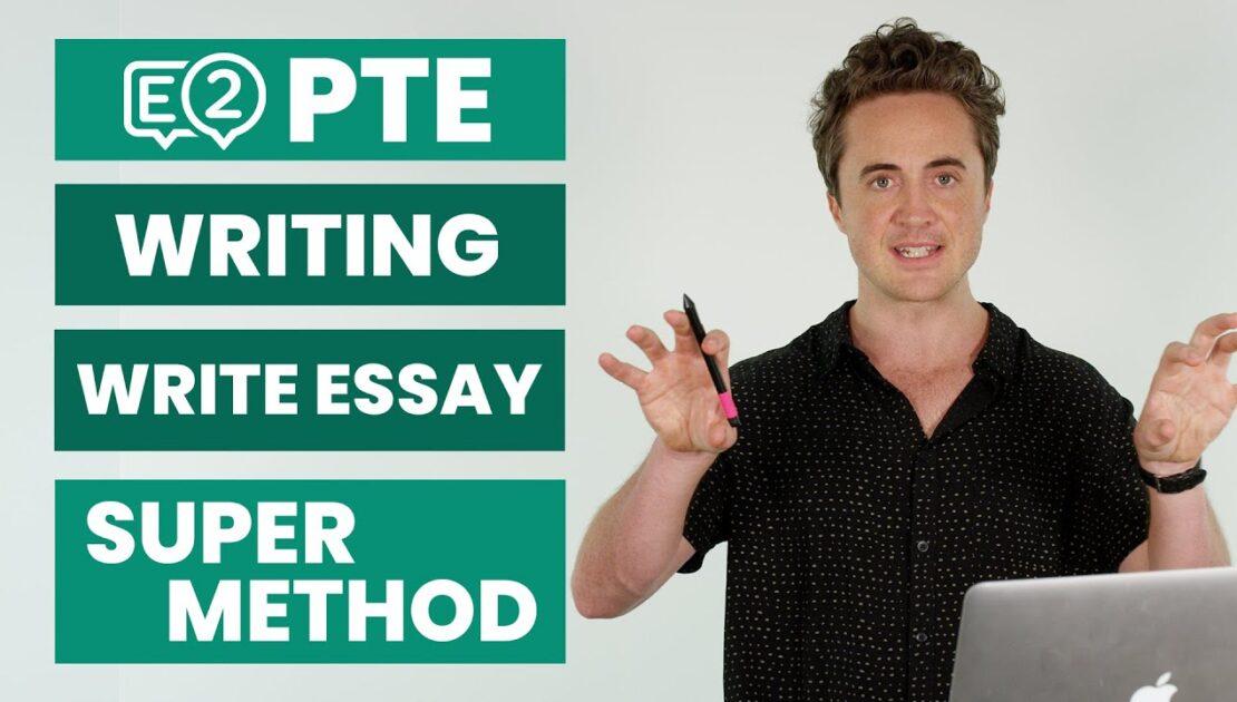 PTE Writing: Write Essay | SUPER METHOD!