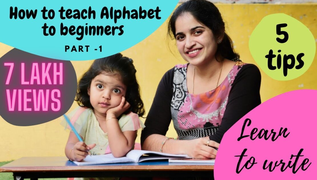 How to teach kids to Write Alphabet   5 tips to make writing easy for kid watch till end to know it