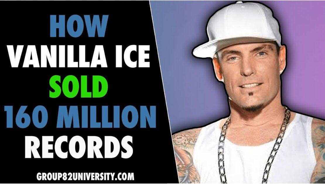 How Vanilla Ice Sold 160 Million Records | Content Marketing